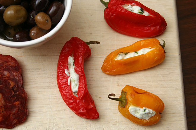 goat cheese stuffed peppers 4
