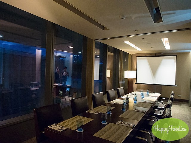 One of the private meeting rooms that can be rented