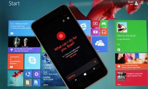 Cortana в Windows 9