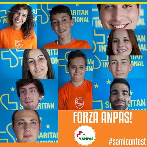 Nazionale Anpas al #samicontest