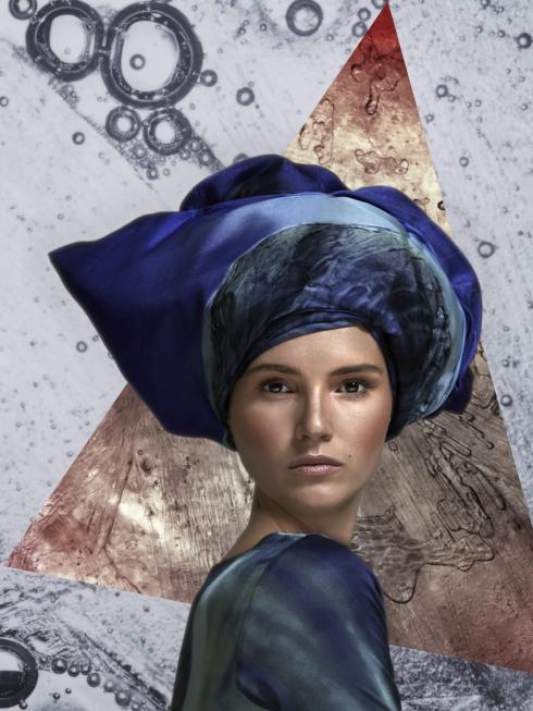 wowcracy emerging designers cristina sabaiduc scarves digital print uk, something fashion blog valencia spain newdesigners AW14 collection