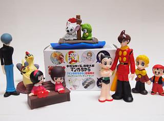 手塚治虫×石ノ森章太郎 角色人物盒玩