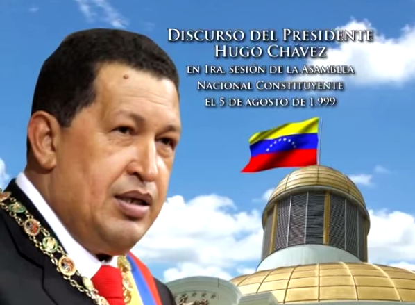 Histórico Discurso de Hugo Chávez en 1ª sesión de la Asamblea Constituyente de 1999.