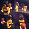 My Lego recreation of the black pool scenes in the movie Under the Skin.