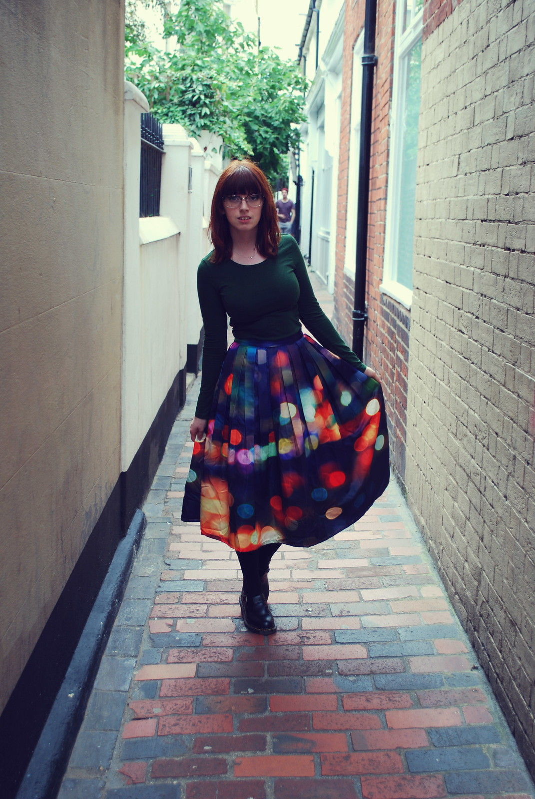 Chicwish Neon Lights Skirt Blog