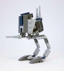 LEGO STAR WARS - CUSTOM AT-RT REPUBLIC WALKER - CLONE WARS - Dark Blue