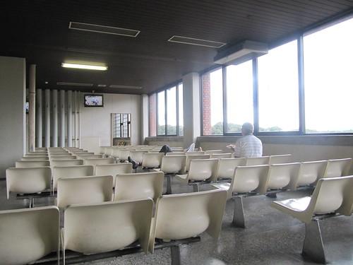 佐賀競馬場の休憩所