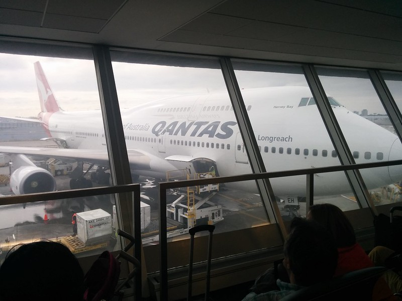 QF108 to LAX