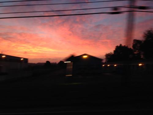 blue red orange sunrise purple horizon blueskies brimfield iphonephotography skyfullofcolor flickrsunrises sunrisesonflickr