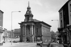 BW - BURSLEM OLD TOWN HALL C1975