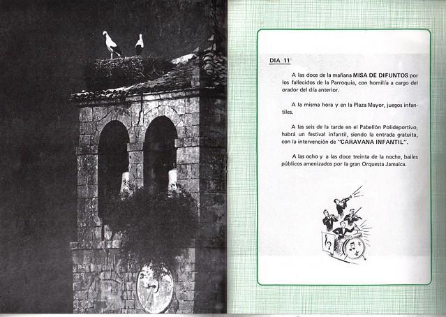 Programa Fiestas de San Lorenzo Año 1979