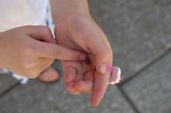 Sweetest bug in sweetest little hands