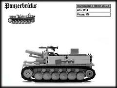 Sturmpanzer II de Panzerbricks