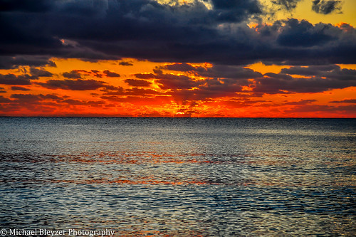 sunset red sea colors cayman explored caymansunset inexplore