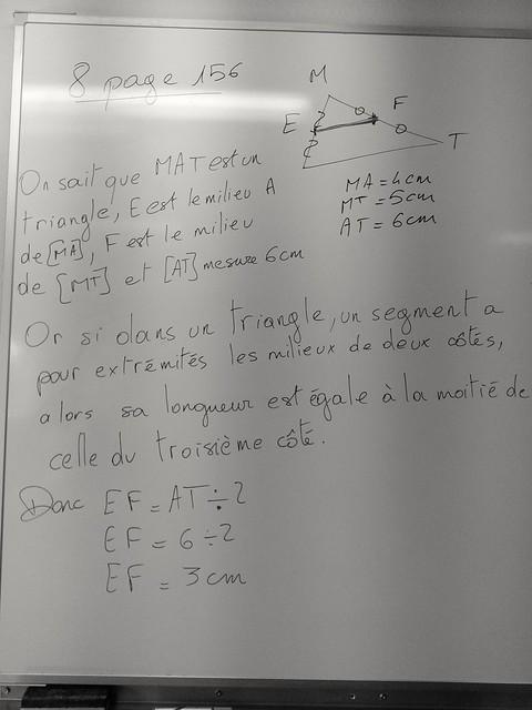 4 - sq1 - droite des milieux - 8 page 156