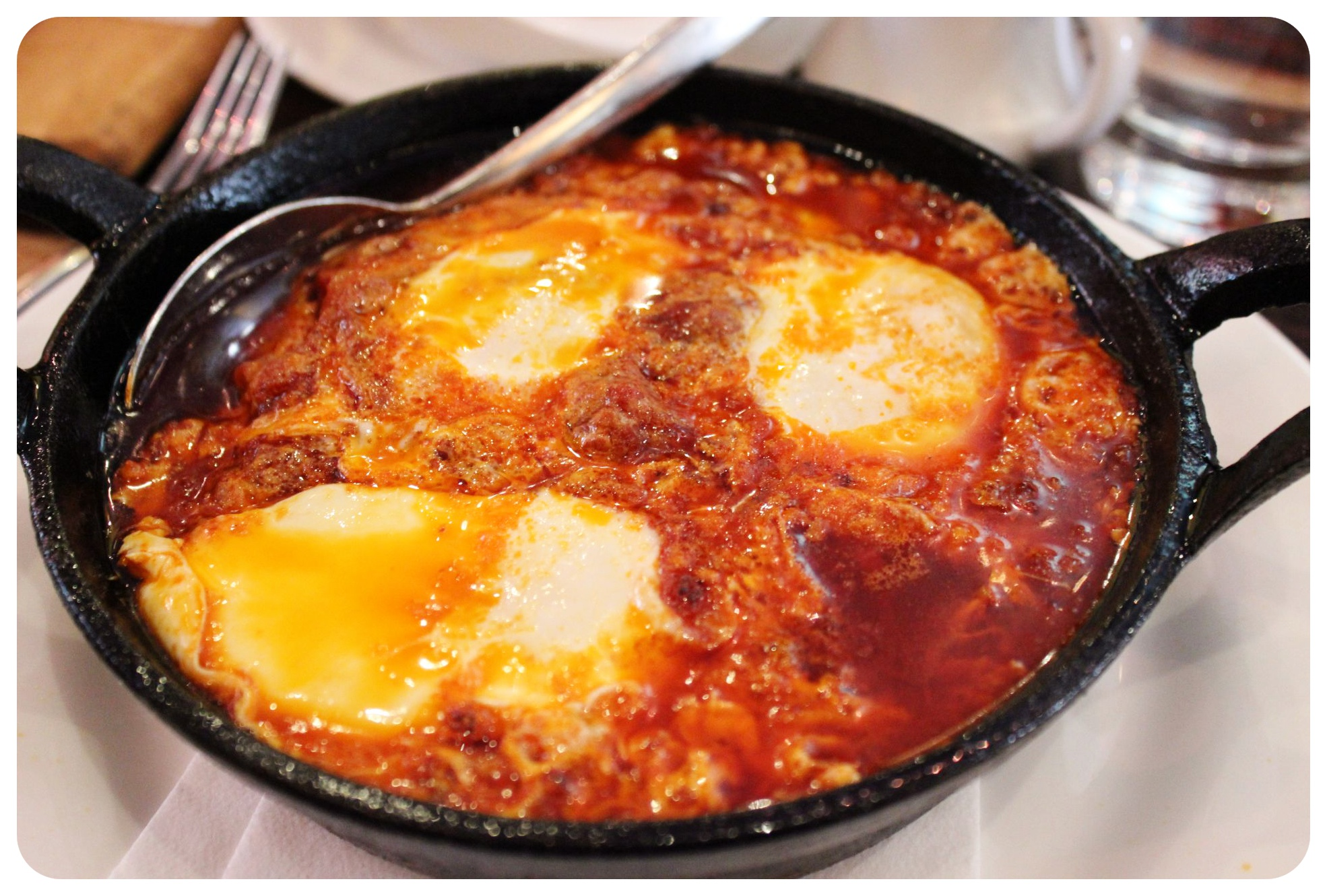 shakshuka at bustan