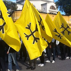 Svenskarnas parti i Stockholm idag. #svenskarnasparti