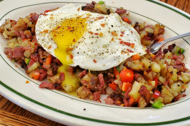 Mmm... pastrami hash | Flickr - Photo Sharing!
