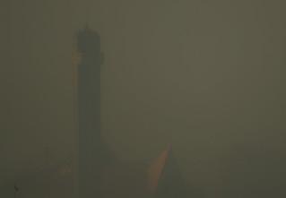 Abuja Smog Shrouds Church