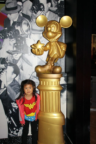 Golden Mickey at Studio Sea