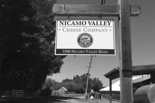 Nicasio Valley Cheese Company - Sign