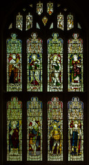 West Window,St Bartholomew's church, Much Marcle, Herefordshire