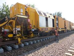 Union Pacific's Track Renewal Train - 9/19/2014