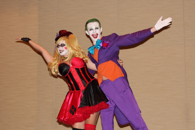 Harley Quinn and Joker Page to Stage Costumes