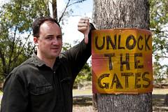 Unlock the gates