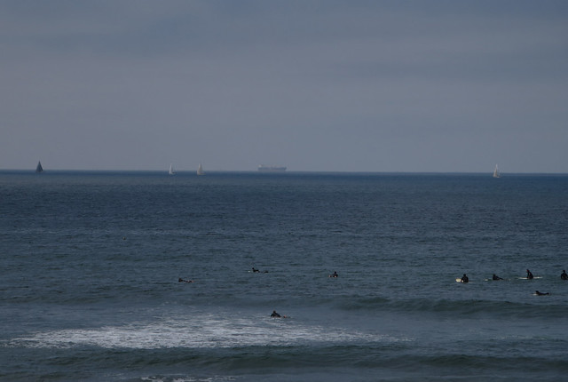 Surfers at Ocean Beach, San Francisco (2014)