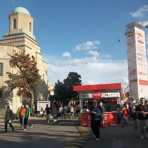 The mill of people at the Ex  #toronto #Torontophotos #cne #exhibition