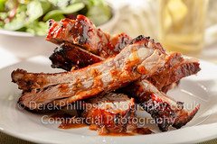 Spare Ribs Food Photography