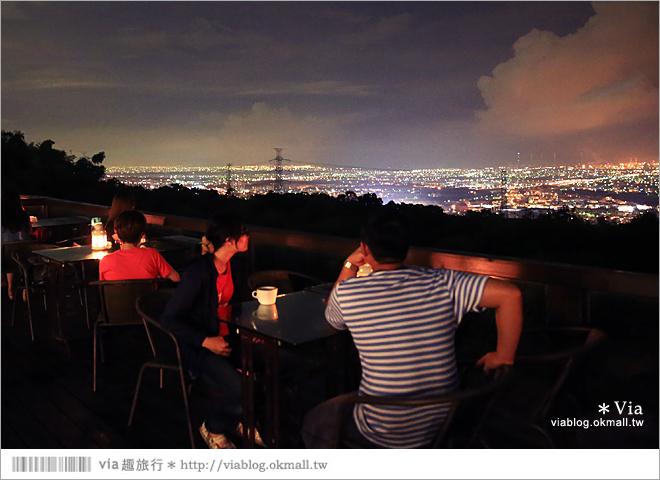 【台中夜景餐廳推薦】台中龍貓夜景~MITAKA 3e Cafe◎大推薦的台中約會地點♥ 52