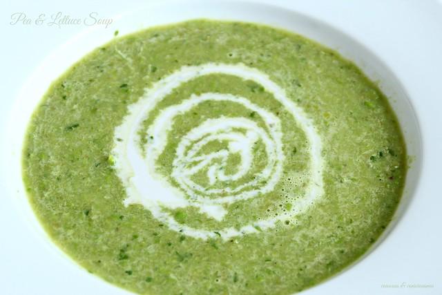 Pea & Lettuce Soup 1