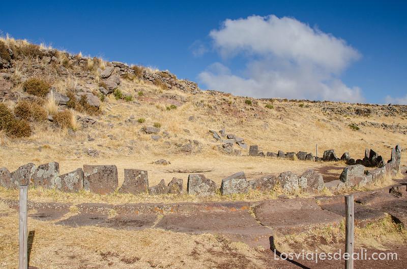 observatorio solar en ruta de Sillustani y raqchi