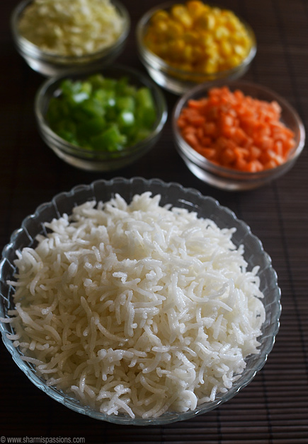 How to cook basmati rice for fried rice and pulao