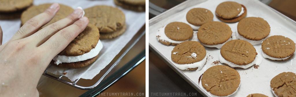 15274790126 8d3a24fa92 b - My Hot Mess Fluffernutter Sandwich Cookies