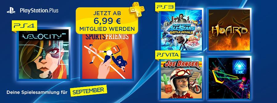 PS Plus September 2014