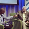 Steve Blank & I #fistbump during our fireside chat at @google last week. Find out why on video at http://buildup.vc/news #buildupvc