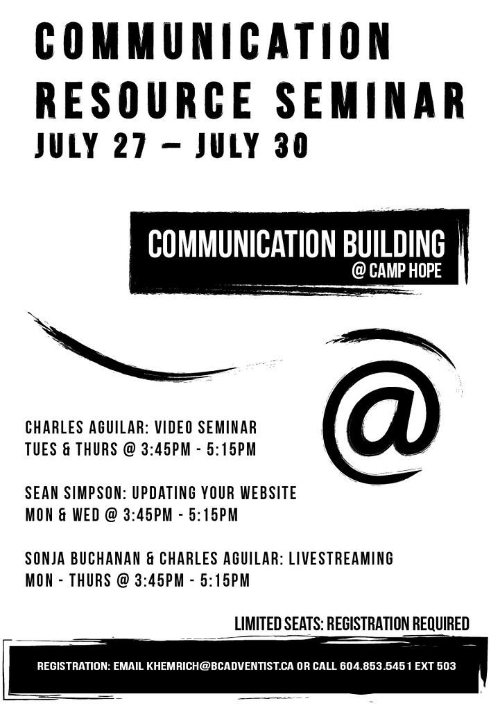 Communication Resource Seminar