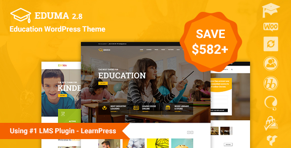 Eduma v2.8.5 - Education WordPress Theme - Education WP