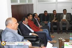 فريق عن لجنة دراسة طلبات رفع المكاتب الضمانية لفروع يزور عدد من مكاتب الخدمات بالمنطقة الغربية