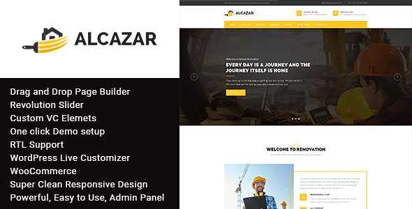 Alcazar WordPress Theme free download