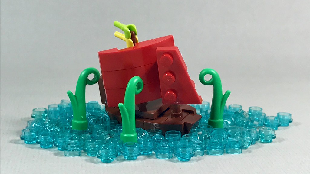 TheMightyKraken (custom built Lego model)