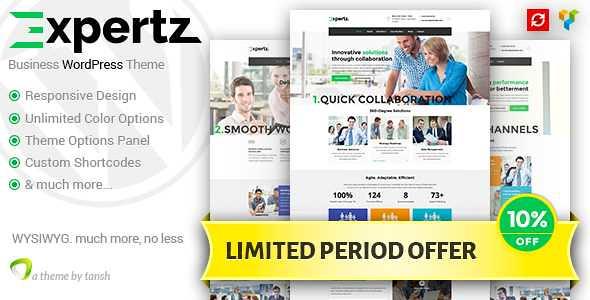 Expertz WordPress Theme free download