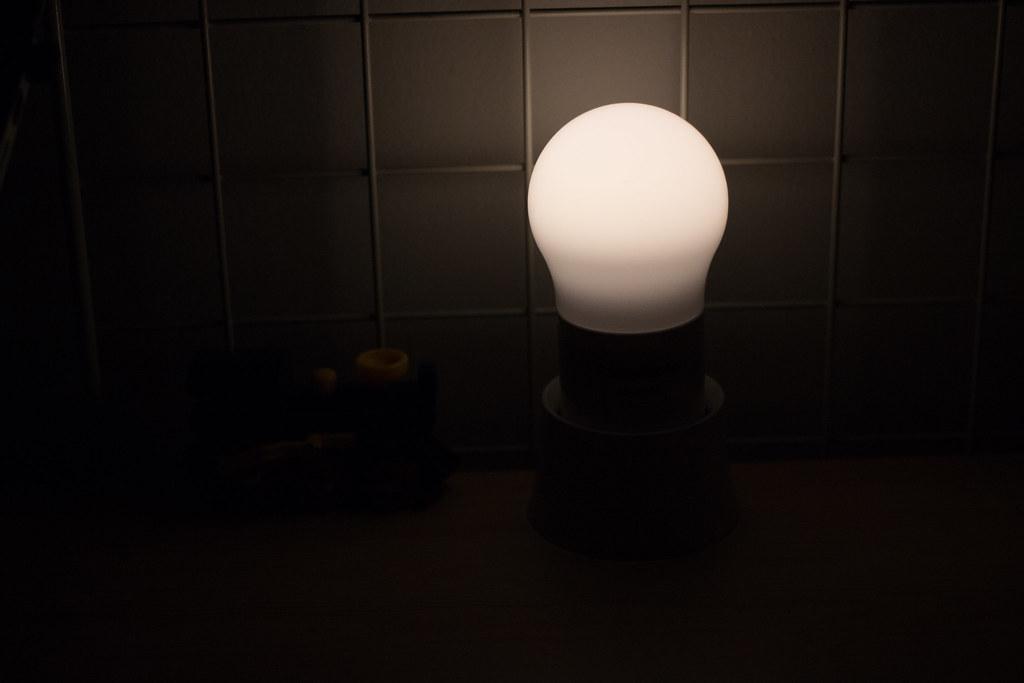 パナソニック 球ランタン 弱点灯