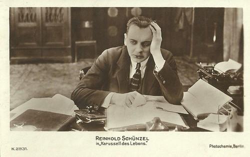 Reinhold Schünzel in Das Karussell des Lebens