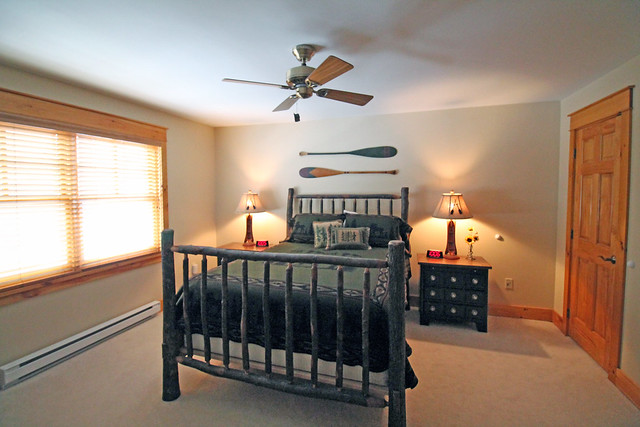 Master bedroom with private full bath; double closets;