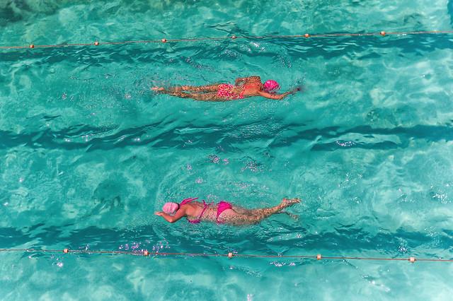 Pinkchronized Swimming
