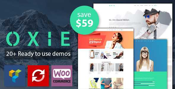 Oxie WordPress Theme free download